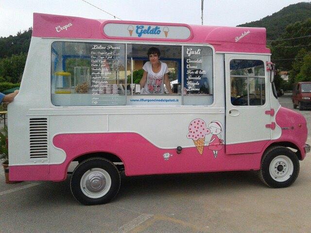 Il camioncino del gelato